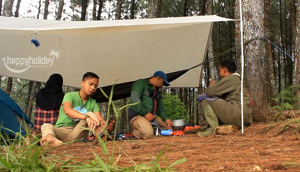 Lokasi Camp Curug Layung