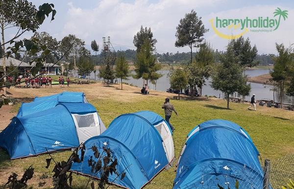 Konsep Camping ground pake tour Pangalengan