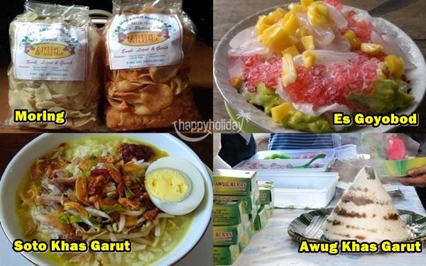 minuman makanan oleh oleh khas garut