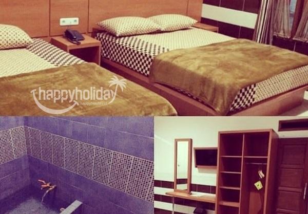Tipe kamar hotel tirta alam garut