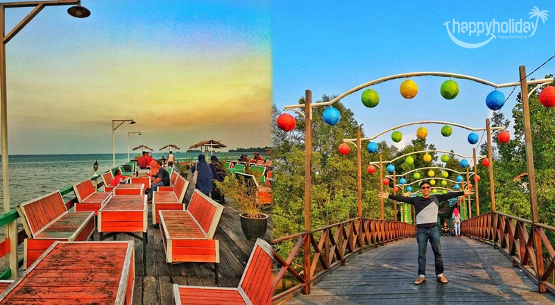 Keunikan Cafe Kampung Wisata Bontang Kuala