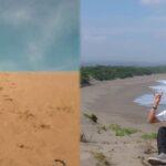 Padang Pasir Di Pantai Ujung Karang Garut