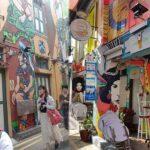 Potret Haji Lane Mural Art Singapura