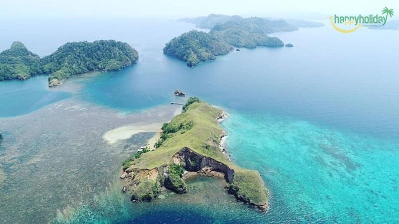 3 Wisata Cantik Kepulauan Nusa Kahatola Maluku Utara