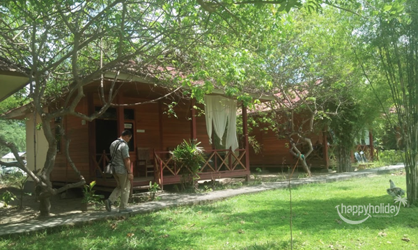 Penginapan cottage Pemandian Air Panas Bora