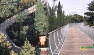 skywalk Emaki Al Masoem resort Lembang