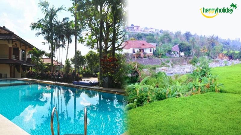 Villa Aries Biru Puncak Bogor