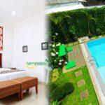 Villa Di Lembang Dengan Kolam Renang Air Panas