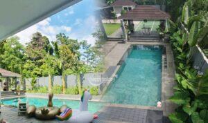 Villa Di Ciater Yang Ada Kolam Renang Pribadi Untuk Rombongan