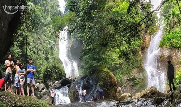 air terjun tiga tingkat tempat wisata yang lagi hits di padang