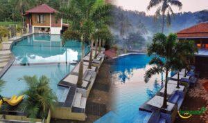 Villa Bagus Di Purwakarta Dengan Kolam Renang View Pasawahan