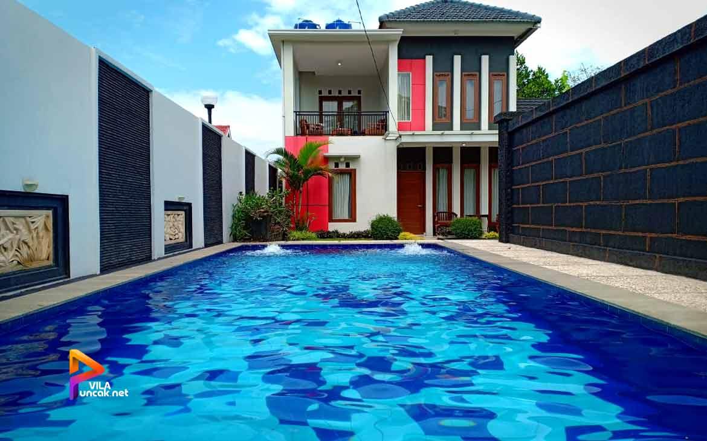 villa abu 4 kamar