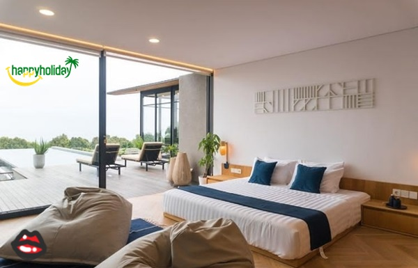 bedroom villa saresae lembang